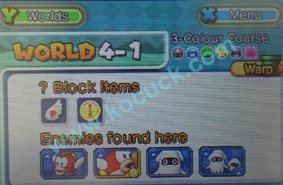 智龙迷城马里奥》游戏攻略World 4 | 妮可的游戏基地